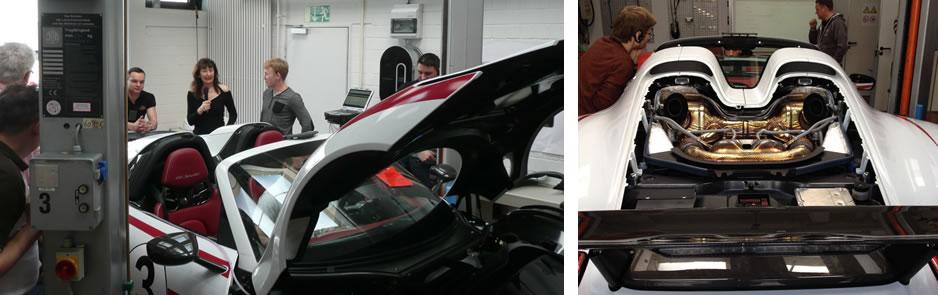 Dolmetschen bei Porsche